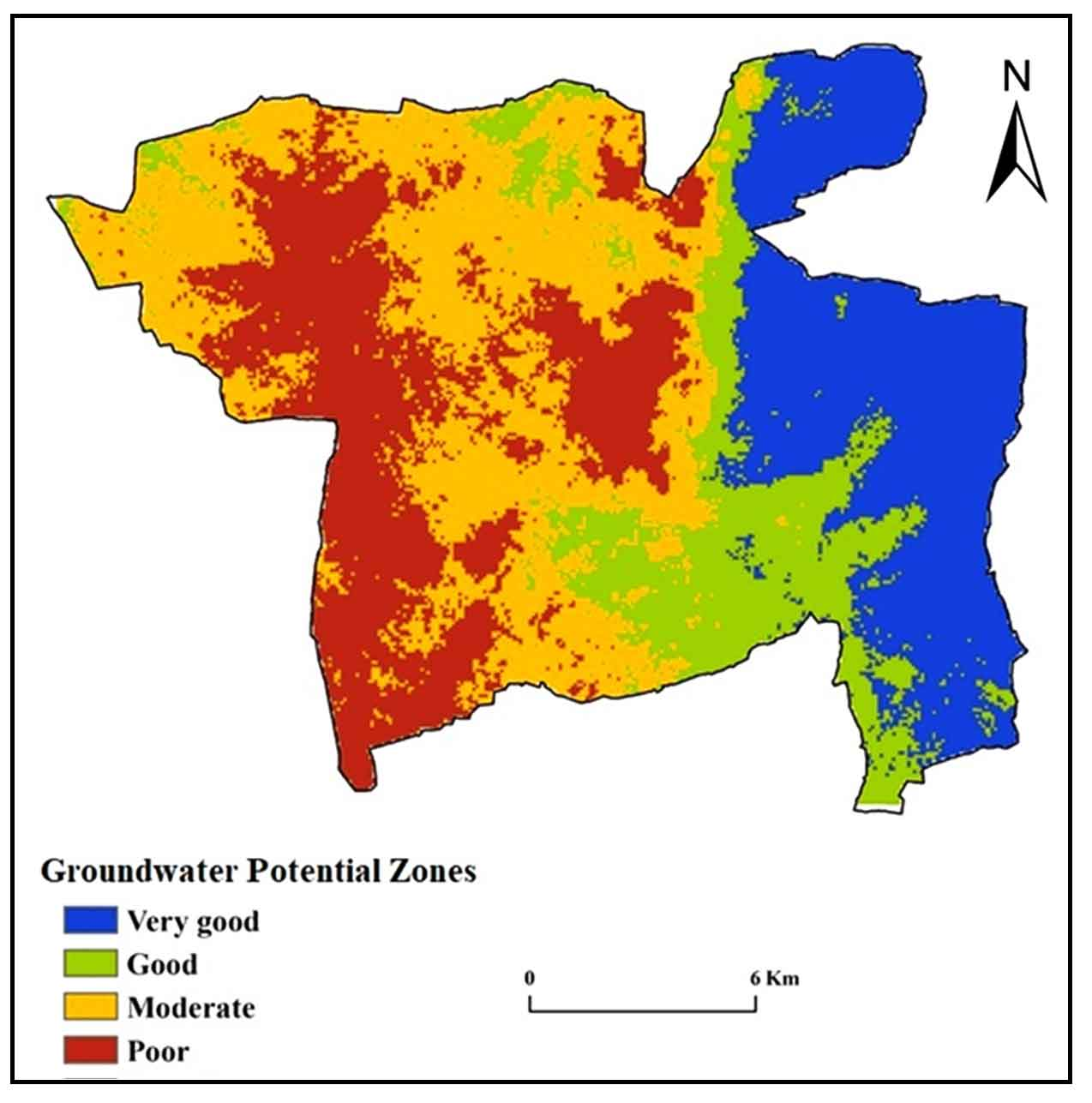 Assessment and Modeling of Groundwater Potential Zones by using Geospatial and Decision-making approaches: A case study in Anantapur district, Andhra Pradesh, India