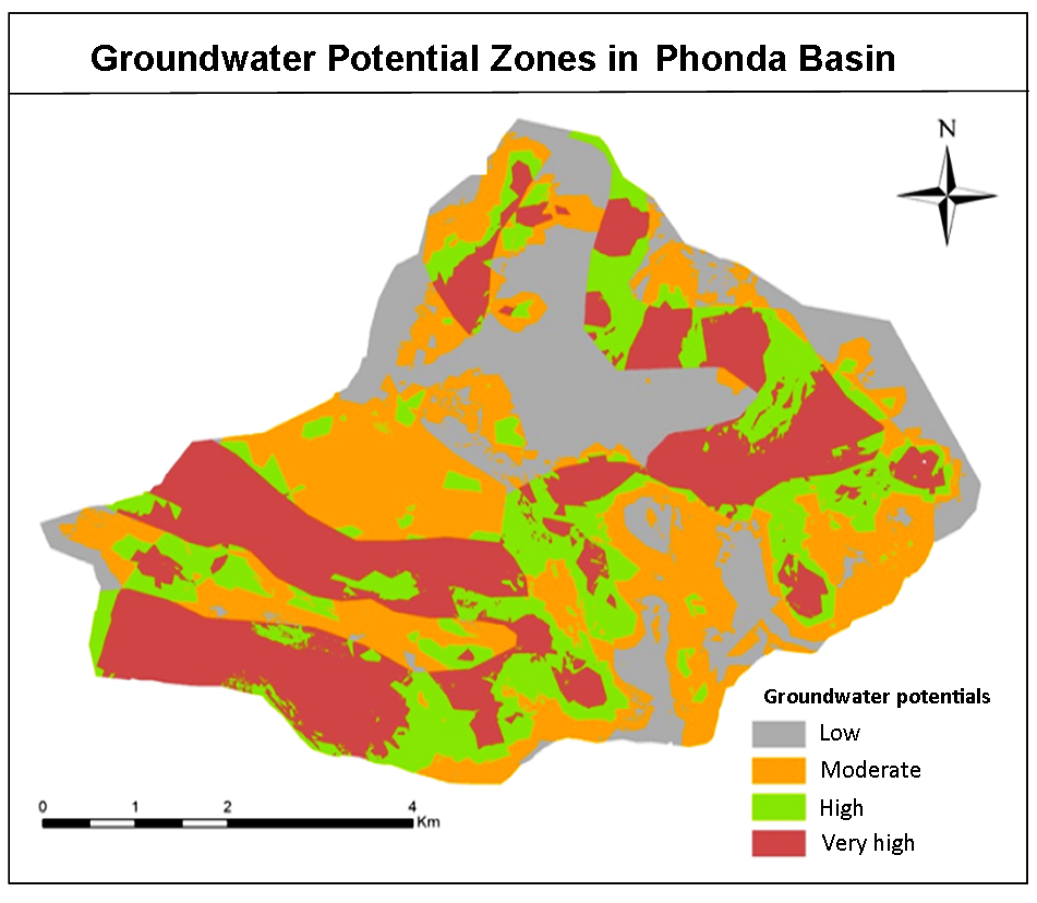 Use of Geospatial Techniques for Groundwater Potential Zone Mapping from Phonda Basin in Sindhudurg District Maharashtra: A Geological Influence Approach