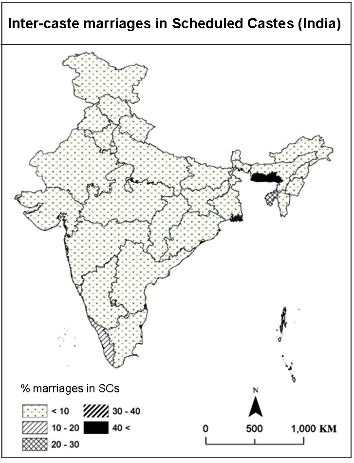 Role of Education in Inter-Caste Marriages of Women from Scheduled Castes in India